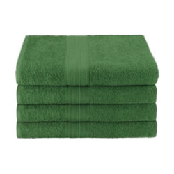 25x52 Ring Spun Bath Towel, Hunter Green, 10.5lb (Monarch-Bath-HGreen)