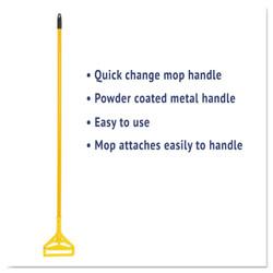 """60"""" Plastic Head Quick Change Mop Handle."""
