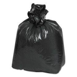 Earthsense Commercial Recycled Can Liners, 16 gallon, .85 Mil, 24 x 33, Black, RNW3310 (500 liners/case)