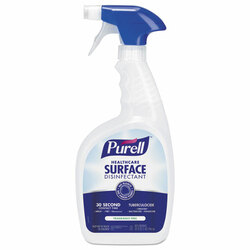 Purell Healthcare Surface Disinfectant, Fragrance Free, 32 oz Spray Bottle (3 bottles/case)