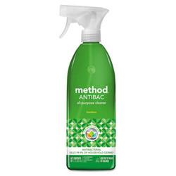 Method Antibac All-Purpose Cleaner, Bamboo, 28 oz Spray Bottle (8/case)