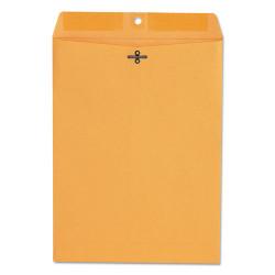 Kraft Clasp Envelope, Center Seam