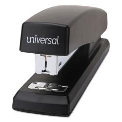 """Universal® Economy Full-Strip Stapler, 20-Sheet Capacity, 3"""" Throat, Black"""