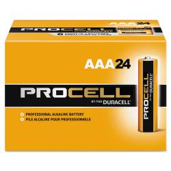 Duracell Procell Alkaline Batteries, AAA, 24/Box