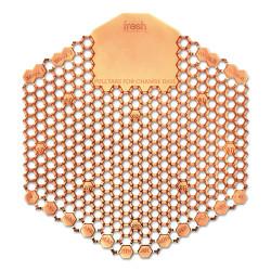 Fresh Products Wave 3D Urinal Deodorizer Screen, Orange, Mango Fragrance, 3WDS60MAN (10 screens/box)