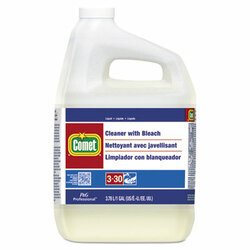 Comet Liquid Cleaner with Bleach, One Gallon Bottle (3 gallons/case)