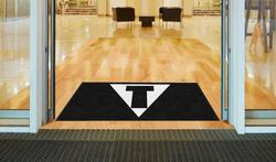 M+A Matting TITLE Boxing Logo Classic Impressions, Horizontal Interior Wiper Mat