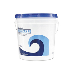 Boardwalk Low Suds Industrial Powder Laundry Detergent, Fresh Lemon Scent, 40lb Pail (BWKHURACAN40)