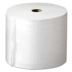 MORCON Mor-Soft Coreless Alternative Bath Tissue, 2-Ply, White, 1000 Sheets/Roll, 36/Ct