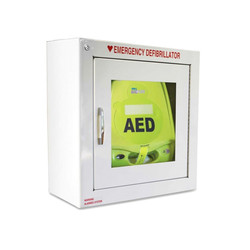 Standard Alarmed AED Wall Cabinet, 7 inch