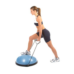 BOSU Home Balance Trainer with Stretch Bands (72-10850-3COS)