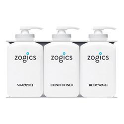 Zogics Bulk Personal Care Dispensers, 3 Chambers