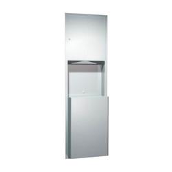 American Specialties Paper Towel Dispenser/Waste Receptacle