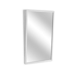 A&J Washroom Fixed Tilt Angle Frame Mirrors (U704)