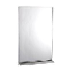 Bobrick Channel Frame Mirror with Shelf (B-166)