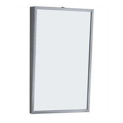 Bobrick Stainless Fixed Tilt Frame Mirror (B-293)