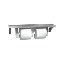 American Specialties Shelf w/Double Toilet Paper Dispenser (ASI-0697)