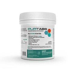 PURTABS ESPT3.3G Disinfecting Tabs (200 tablets/tub)