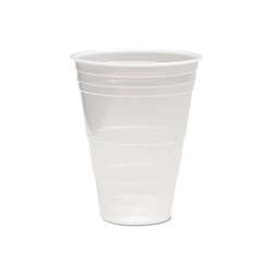 Boardwalk Translucent Plastic Cold Cups, 3oz, 125/Pack