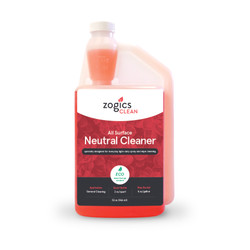 Zogics All Surface Neutral Cleaner, 32 oz