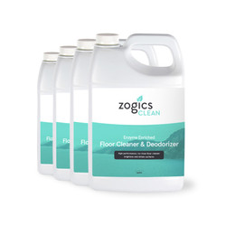 Zogics Enzyme Enriched Floor Cleaner & Deodorizer, 1 Gallon (4 units/case)