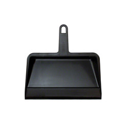 Impact Hand Held Dust Pan, Black Plastic