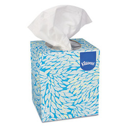 Kleenex Boutique White Facial Tissue, 2-Ply, Pop-Up Box (95 tissues/box) (36 boxes/case)