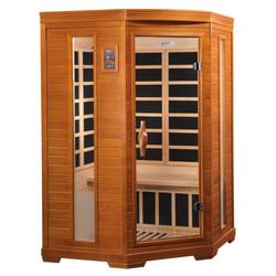 Golden Designs Dynamic Low EMF Far Infrared Sauna, LeMans Edition, DYN-6225-02