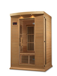 Golden Designs Maxxus Low EMF FAR Infrared Sauna, MX-K206-01-HK