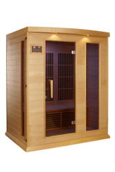 Golden Designs Maxxus Low EMF FAR Infrared Sauna, MX-K306-01-HK