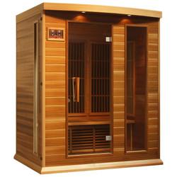 Golden Designs Canadian Red Cedar Low EMF FAR Infrared Sauna, MX-K306-01-RC