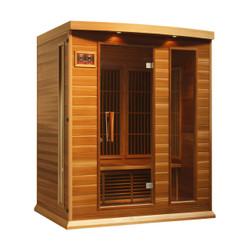MX-K306-01 Canadian Red Cedar Low EMF FAR Infrared Sauna