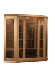 Golden Designs Canadian Red Cedar Low EMF FAR Infrared Sauna, MX-K356-01-RC