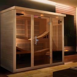 GDI-6996-01 Near Zero EMF Far Infrared Sauna
