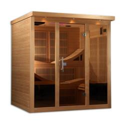 Golden Designs Near Zero EMF Far Infrared Sauna, GDI-6996-01