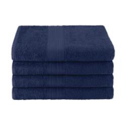 25x52 Ring Spun Bath Towel, Navy, 10.5lb (Monarch-Bath-Navy)