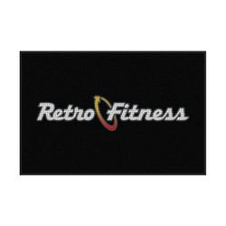 M+A Matting Retro Fitness Waterhog Logo Inlay, Interior Entrance Mat (234-Retro)