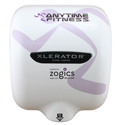 XLERATOR Hand Dryer, Anytime Fitness, XL-SI-ATF-W