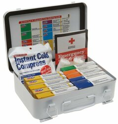 Pool & Lifeguard Emergency First Aid Kit in Metal Case (280-U/FAO) - View 3