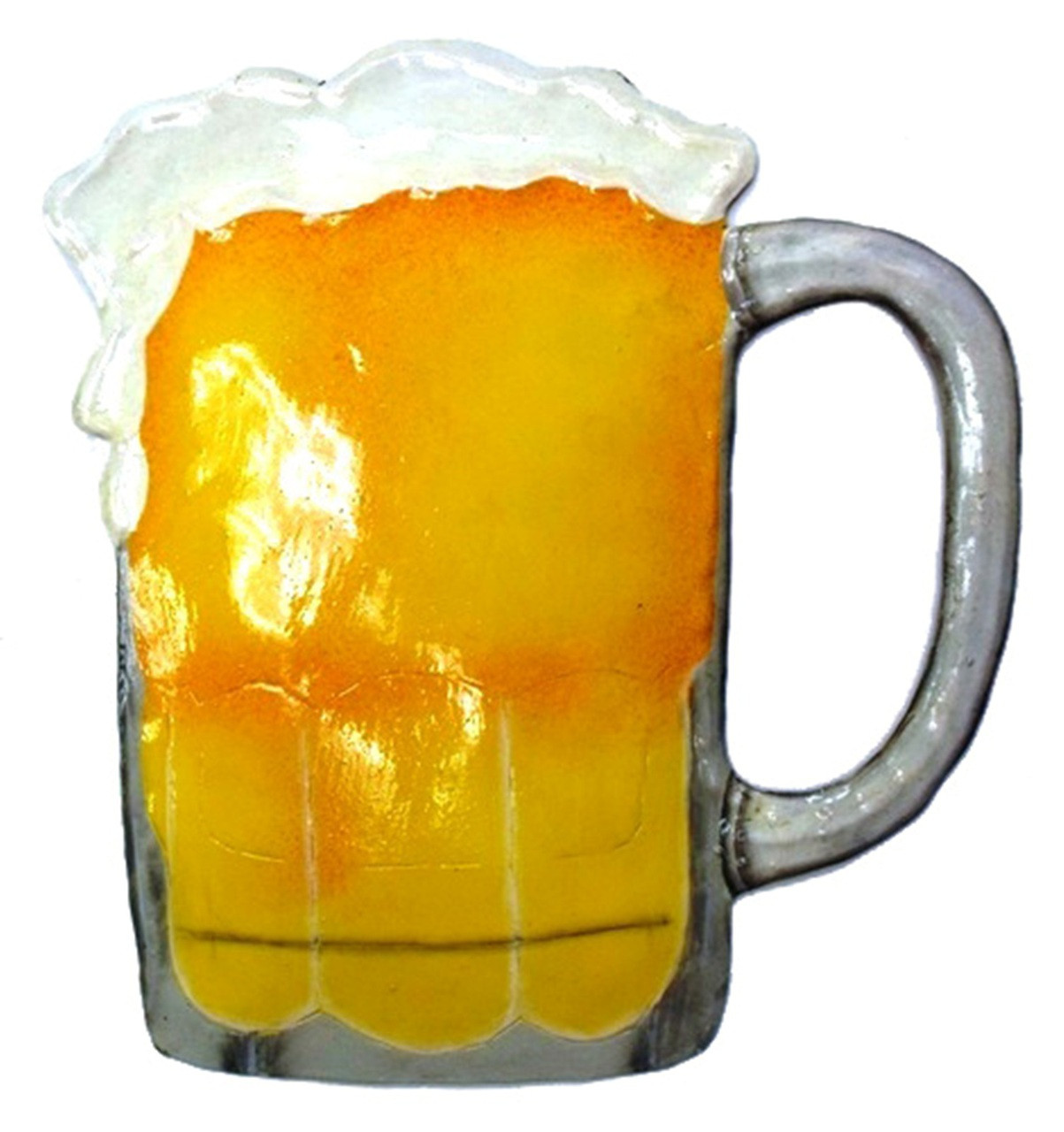 Beer Mug Haitian Metal Art 9 Inch Man Cave Wall Hanging - Mary B ...