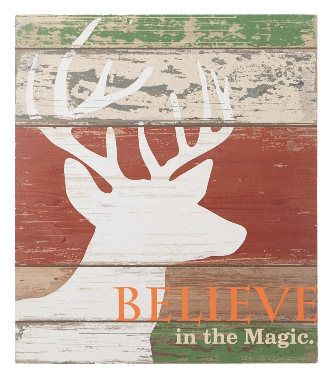 Midwest Cbk Home Decor Believe In The Magic Deer Head Rustic Wall Decor 15 75