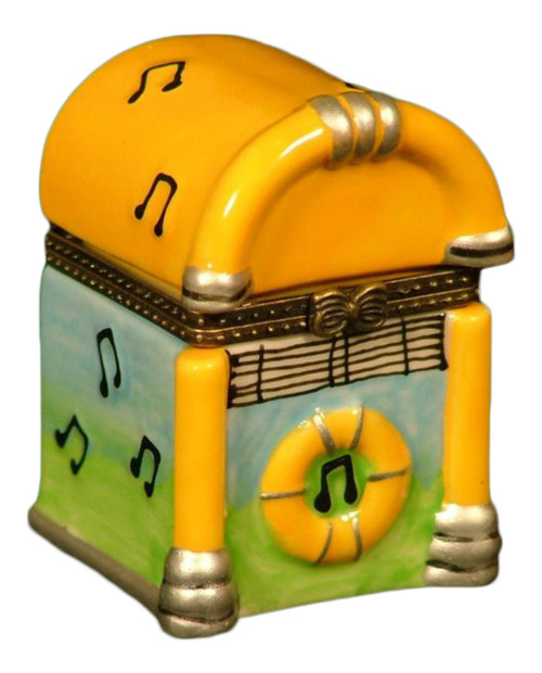 50s Juke Jukebox Music Box Hinged Trinket Box phb