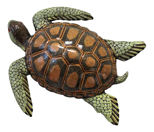 15 Inch Tropic Sea Turtle Beach Tiki Bar Nursery Wall Decor 15STW05