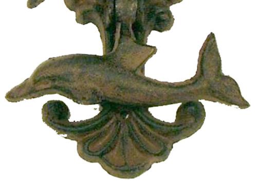 Mermaid Dolphin Door Knocker Cast Iron Mary B Decorative Art