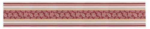 Autumn Leaves Fall Festival Jacquard Kitchen Dining Table Runner 72 Inches