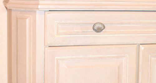 drawers for cabinets kitchen coastal shaped scallop seashell drawer cabinet pull 15060