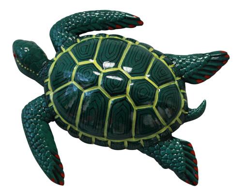Tropical Sea Turtle Beach Tiki Bar Nursery Kid Bath Wall