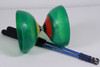 Open Box Diabolo with Bearing and Carbon Sticks