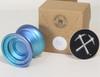 CLYW Compass Yoyo with box  Mirage Fade (blue fade)