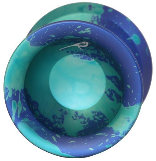 Yoyo Friends Magpie Yoyo Blue Green Acid Wash